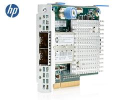 HP 571FLR 2x 10Gb FlexFabric Server LOM - 2x SFP+, SFC9020, PCIex8 2.0 FlexibleLOM