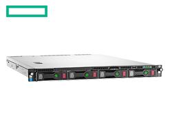 """HP DL60 Gen9 szerver - 1U, E5-2603v3, 4GB, 4x Non-Hot Plug 3.5"""", B140i SATA, DVDRW, 550W, 1.1.1y"""