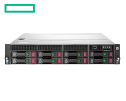 """HP DL80 Gen9 szerver - 2U, E5-2603v4, 8GB, 8x Hot Plug 3.5"""", 2x1TB, B140i SATA, 550W, 1.1.1y NBD"""