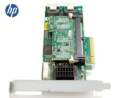 HP Smart Array P410 1G FlashBC - 8x SAS, 2x 8087i, 12x HDD, PCIex8 2.0, R50, R60op.