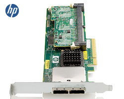 HP Smart Array P411 512MB FlashBC - 8x SAS, 2x 8088e, 100x HDD, PCIex8, R50, R60op.