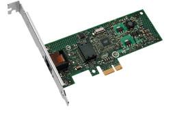 Intel CT 1x Gb Desktop NIC - 1x Co(RJ45), i82574L, PCIex1 1.1, LP