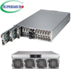 "MicroCloud 5038ML-H24TRF szerver - 3U 24xUPNode on 12Sled [E3-1200v3 4xDDR3 2.5""Fix SATA 2xGbE] 2x2000W"