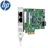 HP 361T 2x Gb szerver NIC - 2x Co(RJ45), i350, PCIex4 2.1