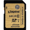 16GB SD Card Class 10 UHS-I SDHC - FAT32, min 45MB/s Kingston