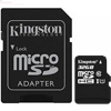4GB microSD Card Class 10 UHS-I SDHC - FAT32, min 10MB/s , incl. adapter, Kingston